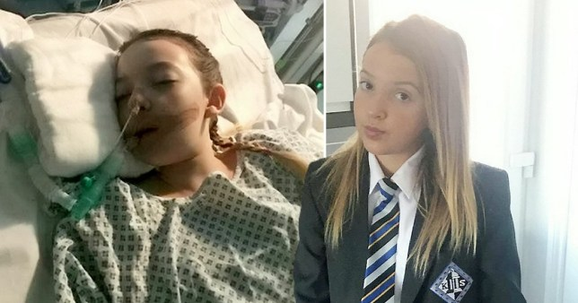 Kiah Stone-Richards was put into a coma after developing sepsis