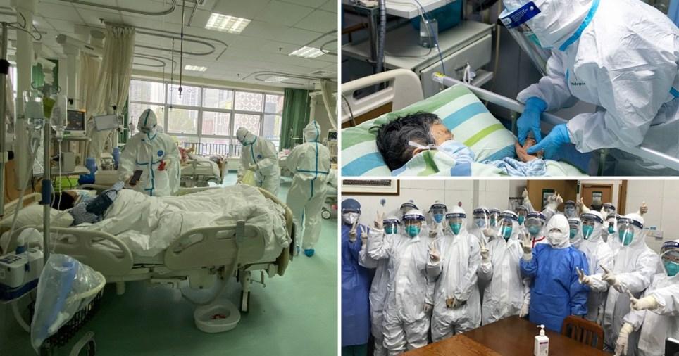 Inside the hospital in Wuhan where medics battle killer coronavirus