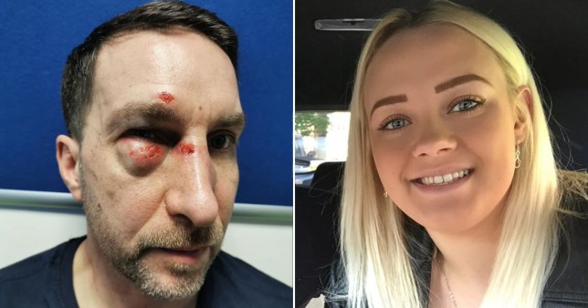 Jamie Hallam, 48, and his fiance Georgina were attacked at gunpoint