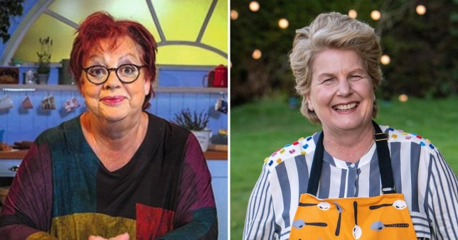 Caption: Jo Brand addresses Bake Off presenter role following Sandi Toksvig exit Credit: BBC/CHANNEL 4