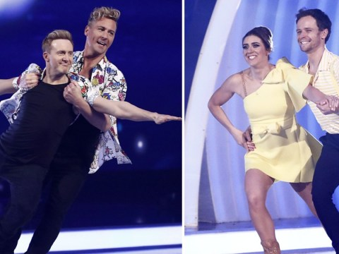 Dancing on Ice viewers accuse judges of fix after 'overmarking' H from Steps and Libby Clegg