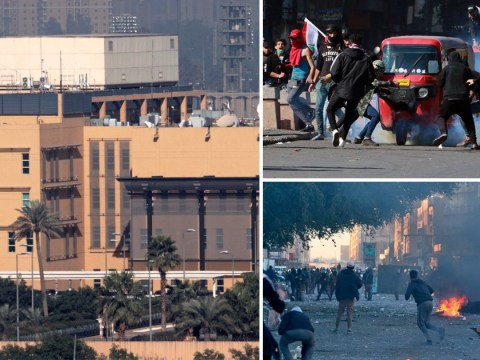Three rockets 'hit US embassy' in Baghdad in latest unclaimed attack