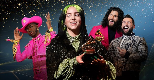 Grammys 2020 full winners list: Billie Eilish victorious as she wins top awards including album of the year