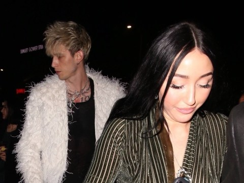 Noah Cyrus and Machine Gun Kelly spotted hitting up Grammys after-party together