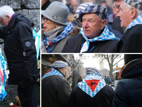 Holocaust survivors return to Auschwitz to mark 75 years since its liberation