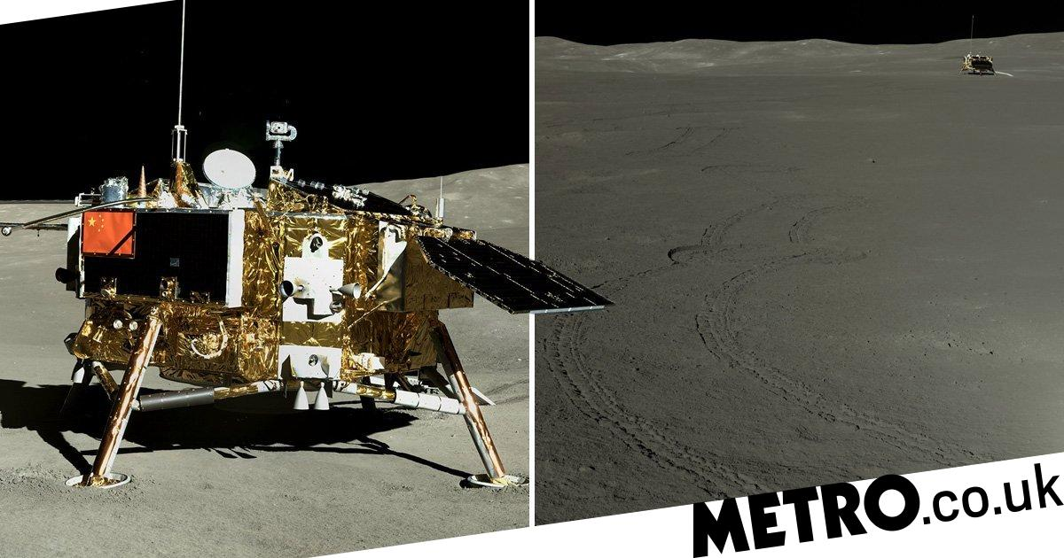 China reveals incredible new pictures of the dark side of the moon