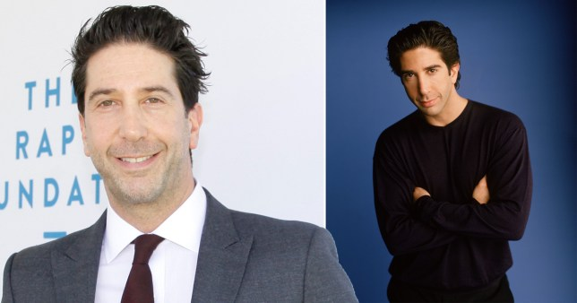 David Schwimmer in Friends