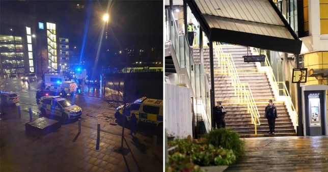 Young man stabbed to death at station during rush hour in south London