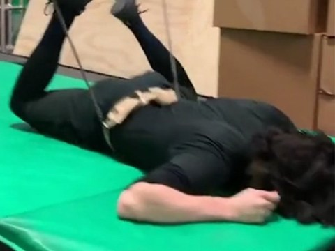 Avengers' Tom Hiddleston faceplants mid-stunt as he makes return as Loki for Disney+ series