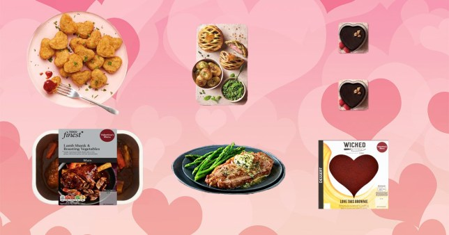 Supermarket Valentine's Day meal deals