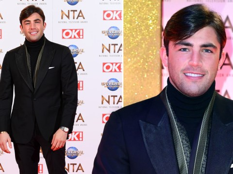 New dad Jack Fincham beams with joy at NTAs after shock baby announcement