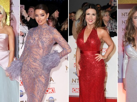 National Television Awards 2020: Holly Willoughby and Susanna Reid lead ladies stealing the show for red carpet glam