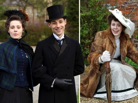 Man who lives as a Victorian gentleman meets woman of his dreams