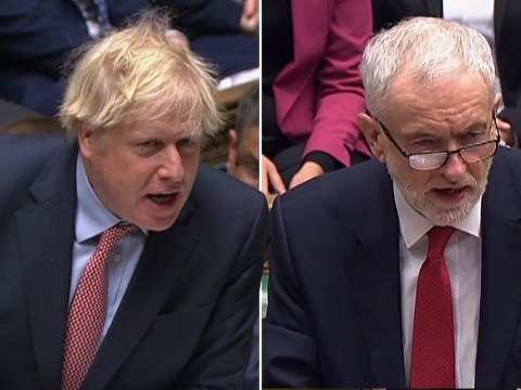 MPs cheer as Boris Johnson and Jeremy Corbyn battle over Brexit in final EU PMQs
