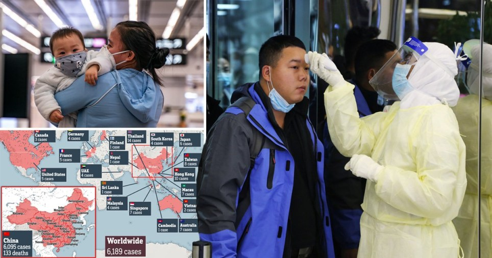 Coronavirus has now killed 170 people and infected 7,711 others in China