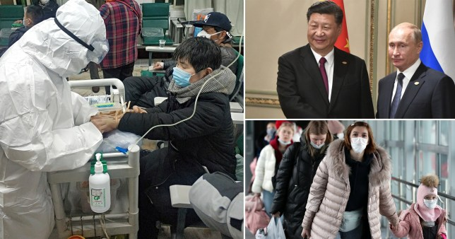Russia has closed its far east border with China to stop the spread of the deadly coronavirus