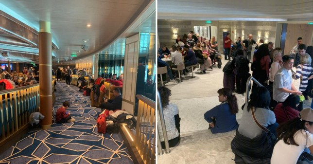 6,000 passengers trapped on ship as two are tested for coronavirus