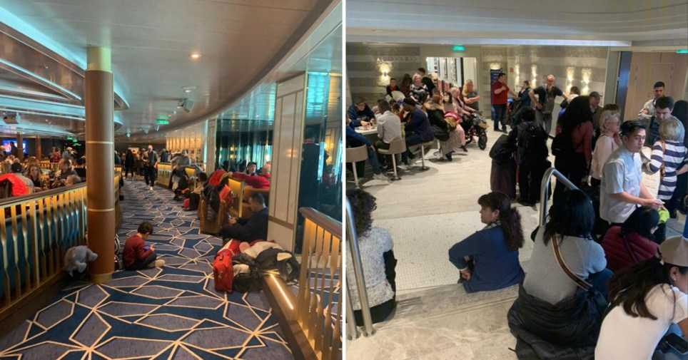 6,000 passengers trapped on cruise ship as two are tested for deadly coronavirus