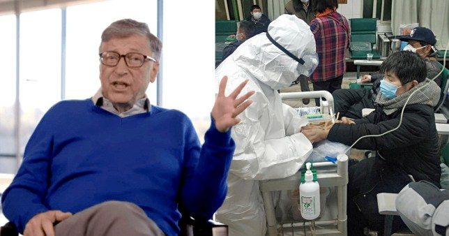 Gates has become a target for coronavirus misinformation (Netflix; Getty)