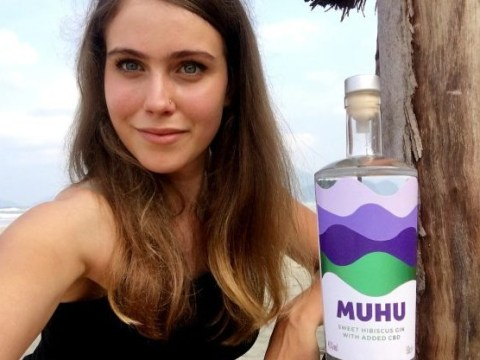 Woman launches her own company for just £1,000, selling sweet hibiscus CBD-infused gin