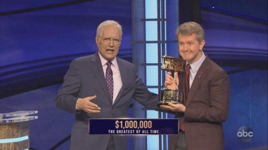 Ken Jennings on Jeopardy!