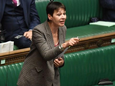 Caroline Lucas investigated over breach of Parliament tour rules