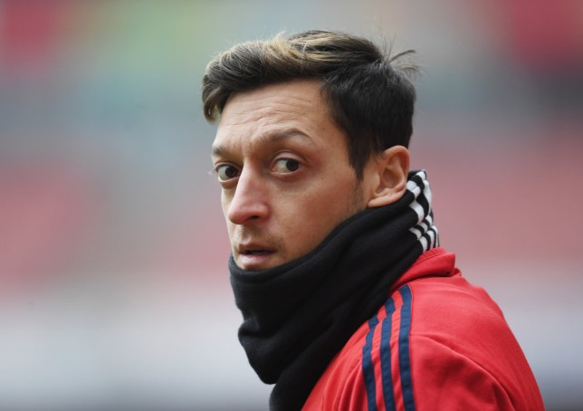 Mesut Ozil has responded well to Mikel Arteta's arrival at Arsenal