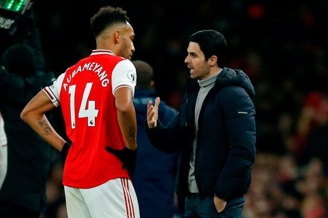 Arsenal's Pierre-Emerick Aubameyang produced a captain's performance against Man Utd