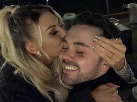 Hollyoaks star Ray Quinn engaged as Gemma Collins congratulates sweet couple