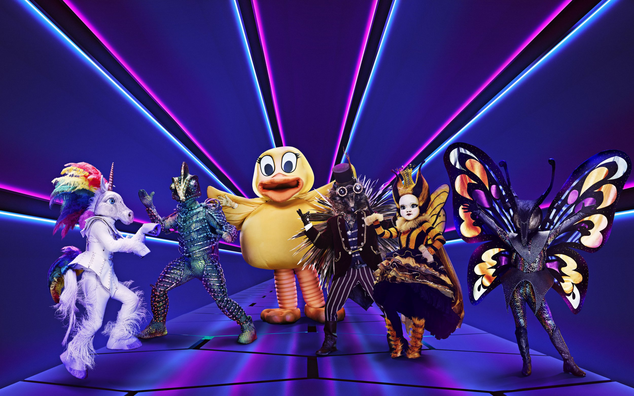 The Masked Singer UK who designs the costumes for the show