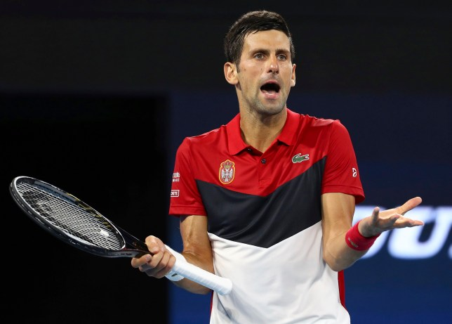Furious Novak Djokovic Turns On The Crowd In Serbia Atp Cup Win Metro News