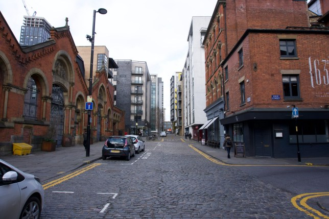 Manchester / UK - March 28 2019: Stree views in Northern Quarter; Shutterstock ID 1374607217; Purchase Order: -