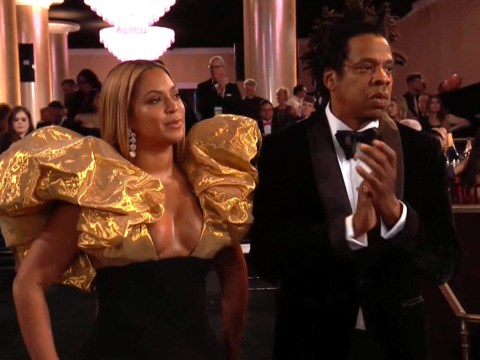 Of course Beyonce and Jay-Z brought their own champagne to the Golden Globes