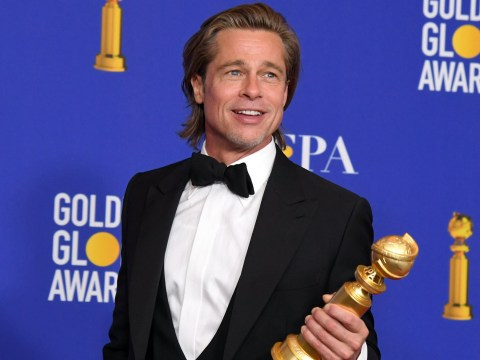 Brad Pitt admits he's 'disgruntled' with Leonardo DiCaprio as he trolls himself over 'disaster of a personal life'