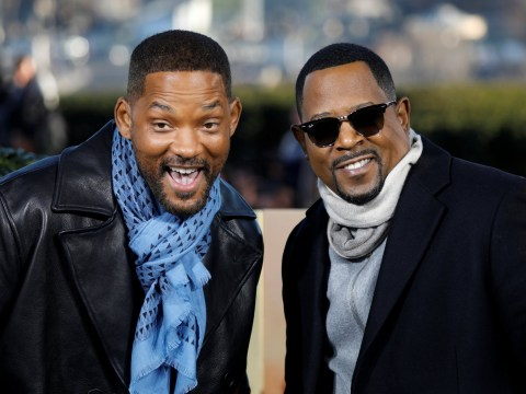 Will Smith and Martin Lawrence are bad boys for life as they buddy up for photos ahead of long-awaited return