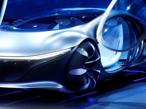 Futuristic concept cars from Mercedes and Sony are stealing the show at CES 2020