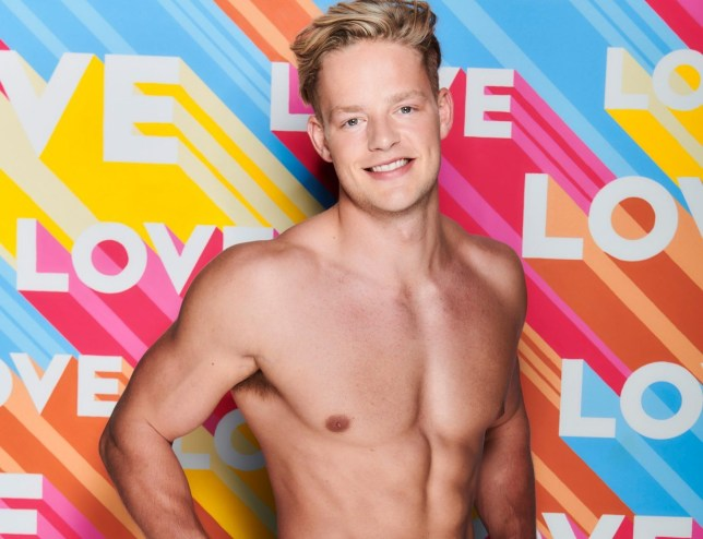 Editorial use only Mandatory Credit: Photo by Joel Anderson/ITV/REX (10519615aq) Ollie Williams 'Love Island' TV Show, Series 6, South Africa - Jan 2020