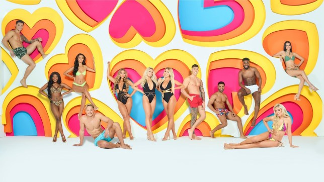 the Love Island 2020 cast promotional picture