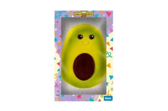 Astounding Asda Is Selling An Adorable Vegan Avocado Shaped Cake Metro News Personalised Birthday Cards Vishlily Jamesorg