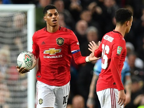 Marcus Rashford laments 'bittersweet' loss to Man City as he captains Manchester United for the first time