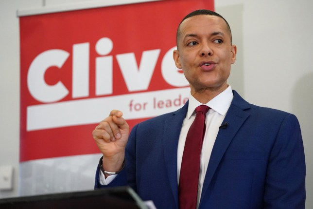 LONDON, ENGLAND - JANUARY 10: Clive Lewis talks onstage at the Black Cultural Archives on January 10, 2020 in London, England. Labour leadership candidate Clive Lewis, who is the MP for Norwich South, laid out his plans for the Labour Party in a bid to secure the 22 nominations needed to remain in the race to replace the party's current leader Jeremy Corbyn. (Photo by Peter Summers/Getty Images)