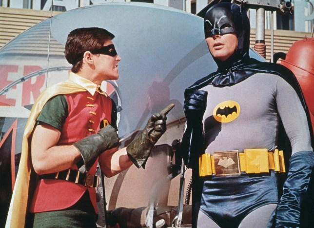 Batman actor Burt Ward
