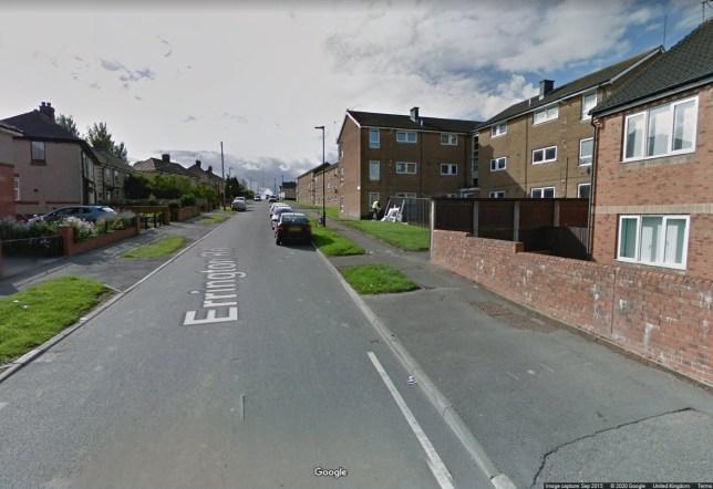 Errington road, Arbourthorne, Sheffield