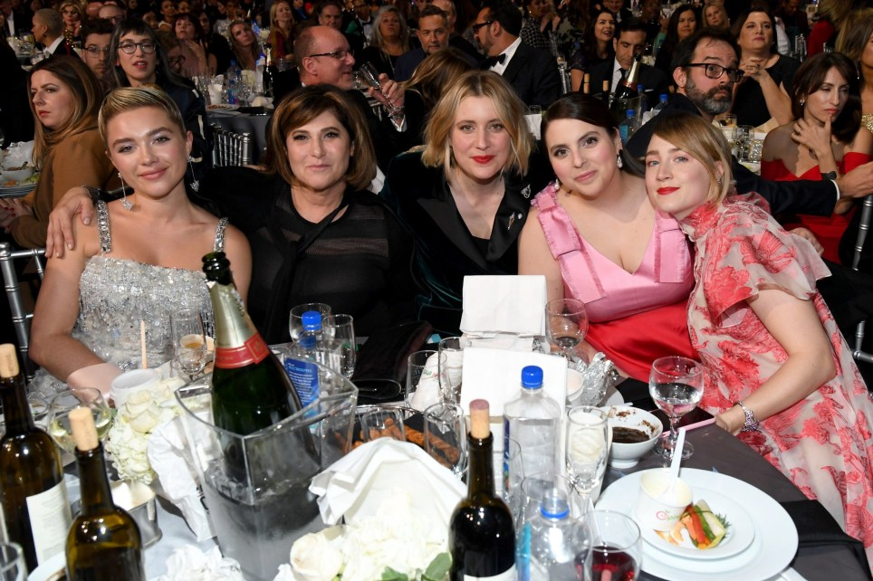 Celebrities get cosy in behind-the-scenes pictures at Critics' Choice Awards