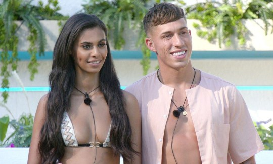 Sophie Piper and Connor Durman Love Island