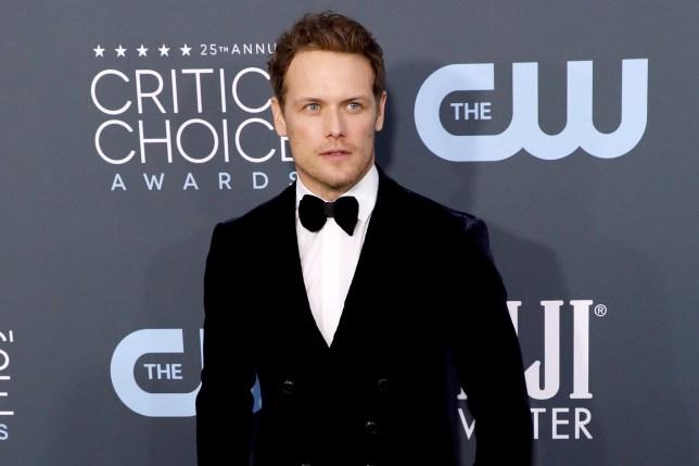 Sam Heughan attends the 25th Annual Critics' Choice Awards