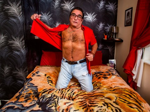 Granddad becomes Britain's most unlikely pin up after selling jeans with these saucy pictures