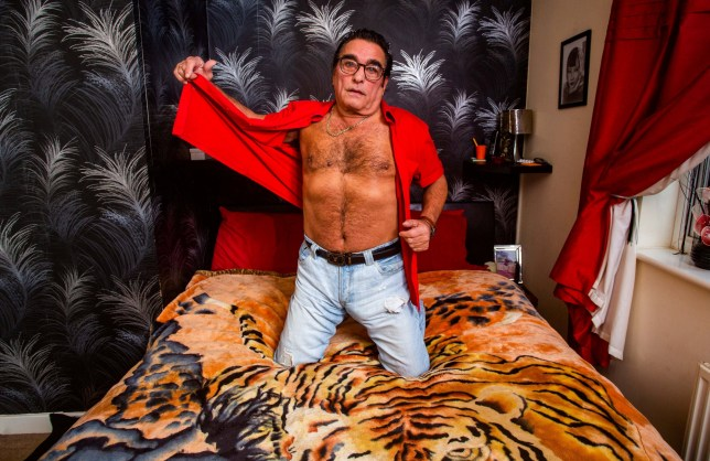 Granddad becomes Britain's most unlikely pin up after jeans advert goes viral