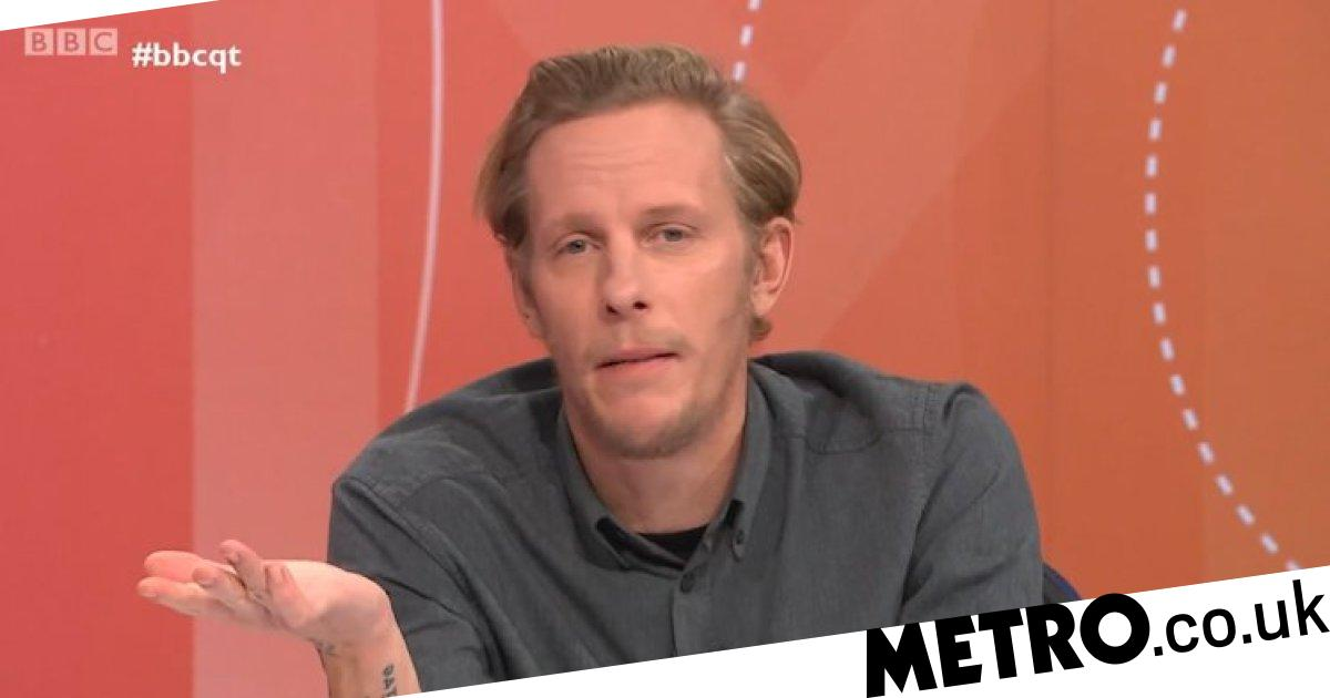 Laurence Fox claims black and working-class actors only complain after fame