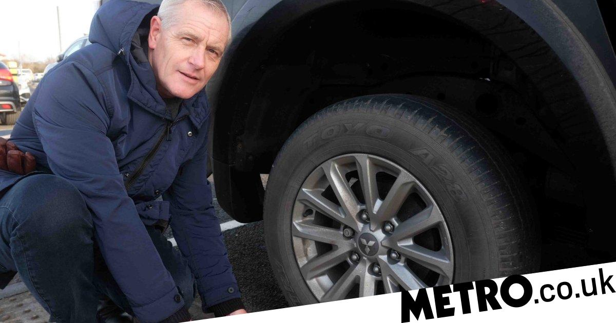 Woman fined £100 for 'parking millimetres over edge of bay' - metro
